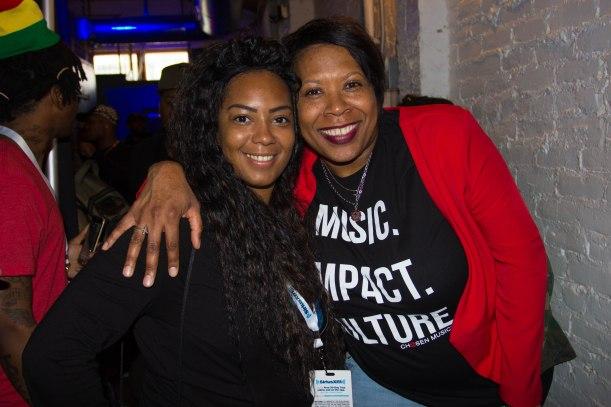 Deisha (deja) Ling & Heather B. - YUA Int'l SXSW Recap