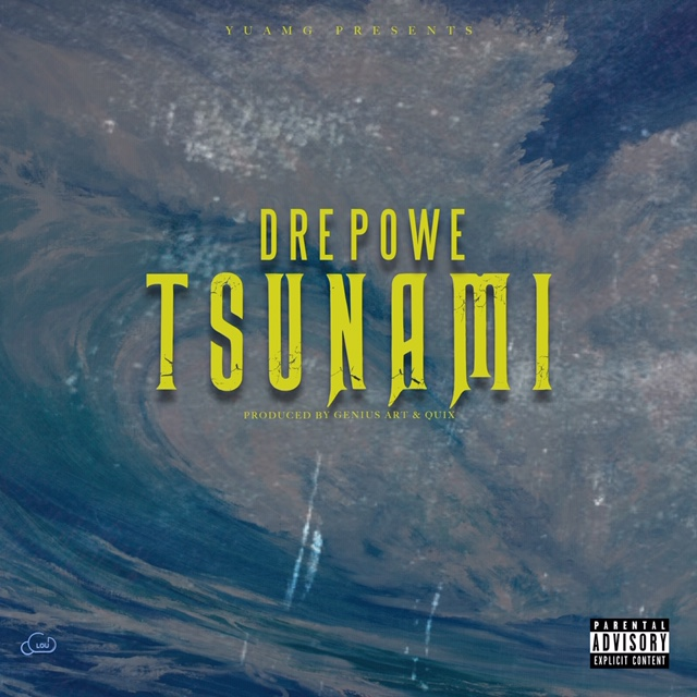 Dre Powe - Tsunami Wave Cover Art 1