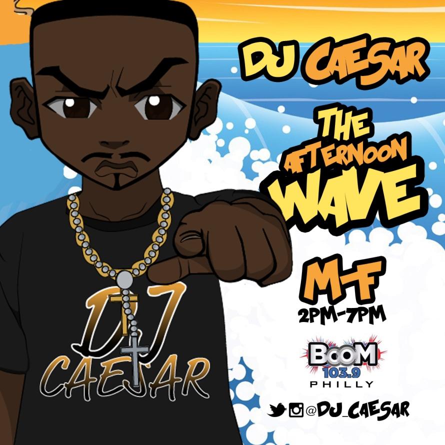 DJ Caesar The Afternoon Wave Flyer